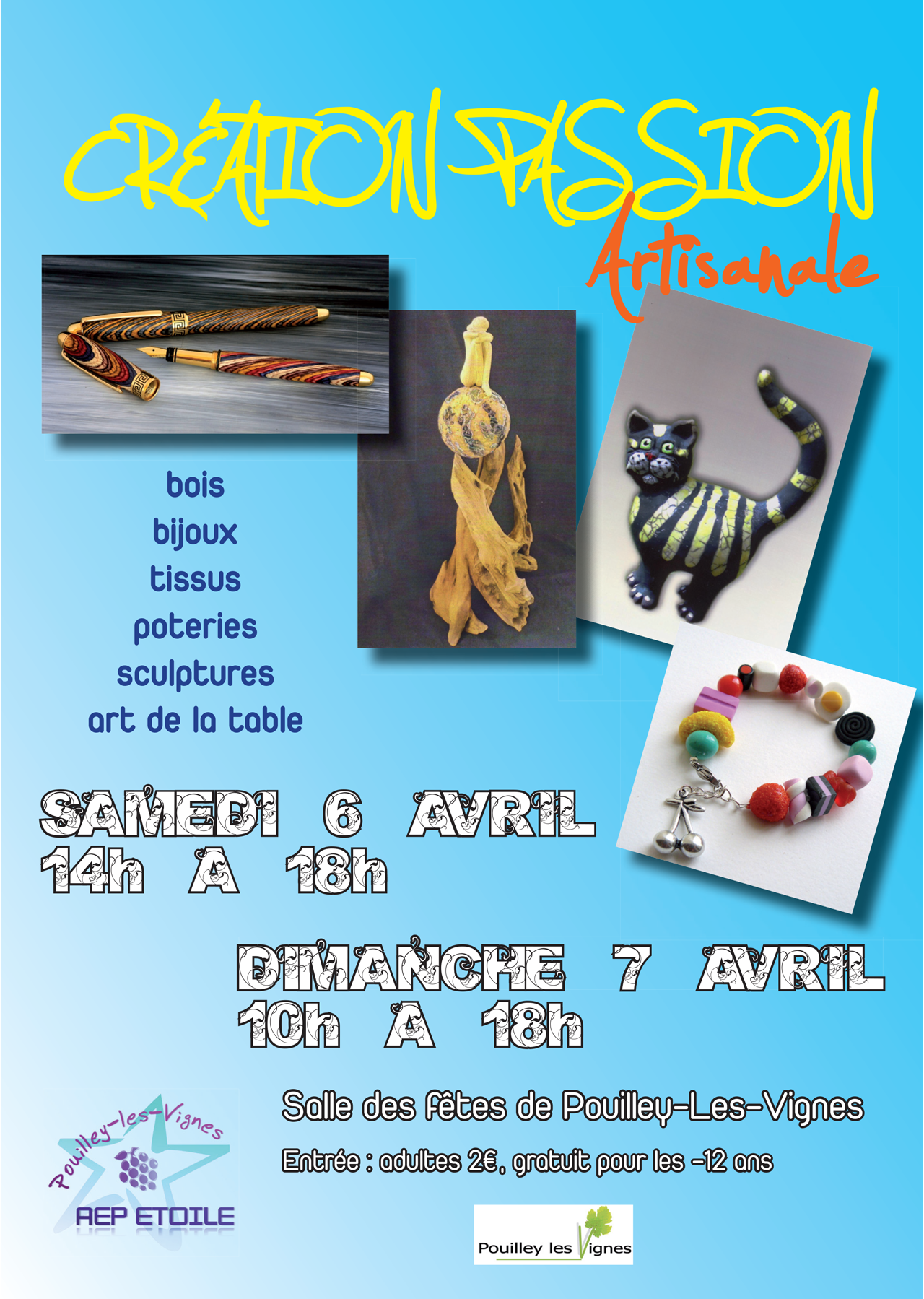 2013-02 - Affiche exposition Creation Passion Artisanale